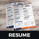 Resume & Cover Letter Design v7 - GraphicRiver Item for Sale