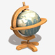Low Poly Earth Globe - 3DOcean Item for Sale