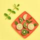 Lemon Kiwi. Fresh Fruit.Vegan Food Concept.Minimal - PhotoDune Item for Sale