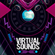Virtual Sounds Photoshop Flyer/Poster Template - GraphicRiver Item for Sale