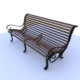 RMS Titanic Bench - 3DOcean Item for Sale