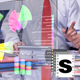 Business Graphs In Office - VideoHive Item for Sale
