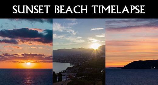 Sunset Beach Timelapse