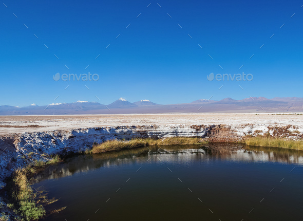 Salar de Atacama in Chile - Stock Photo - Images