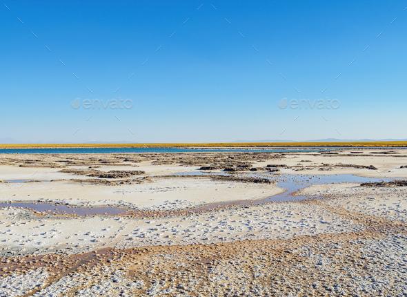 Salar de Atacama in Chile - Stock Photo - Images