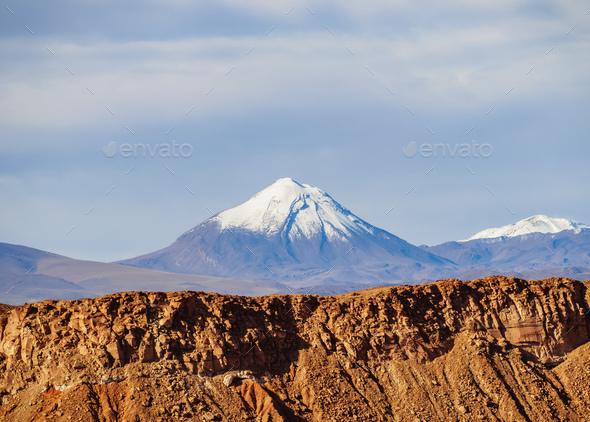 Atacama Desert in Chile - Stock Photo - Images