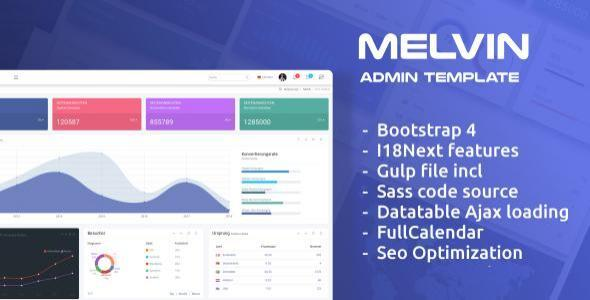 Image of Melvin - Multilingual Responsive Admin