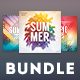 Summer CD Cover Bundle Vol.04 - GraphicRiver Item for Sale