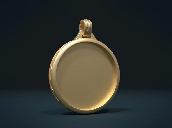 Empty Pendant - 3DOcean Item for Sale