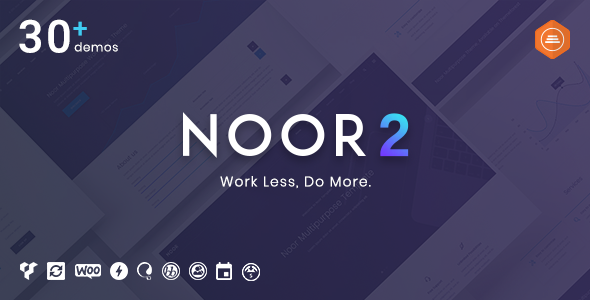 Noor |  Multipurpose & Fully Customizable Creative Theme - Creative WordPress