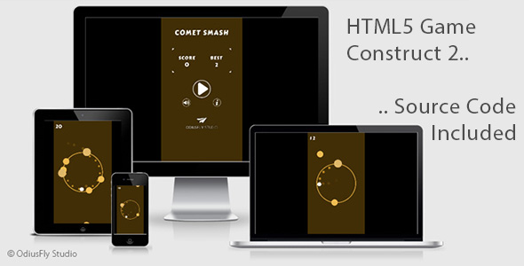 Comet Smash - HTML5 Game (Construct 2)            Nulled
