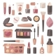 Cosmetic Vector Beauty Make Up Cosmetology