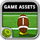 American Football Kicks - Game Assets - GraphicRiver Item for Sale