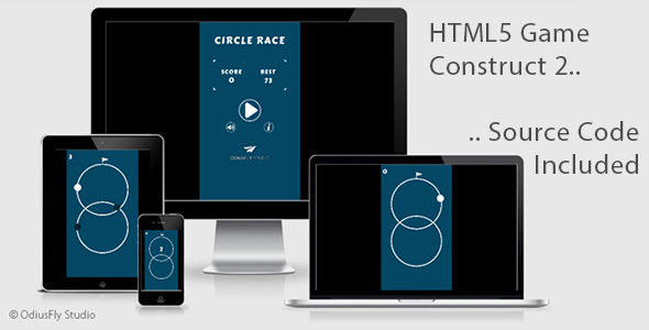 Circle Race - HTML5 Game (Construct 2)            Nulled