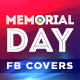 Memorial Day Facebook Covers - 5 Designs - GraphicRiver Item for Sale