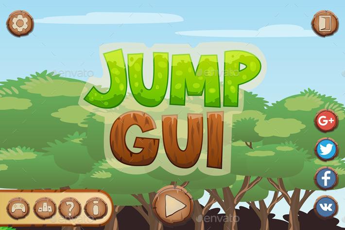 Jump Game UI