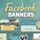 Facebook Banners - GraphicRiver Item for Sale