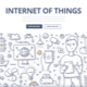Internet of Things Doodle Concept - GraphicRiver Item for Sale