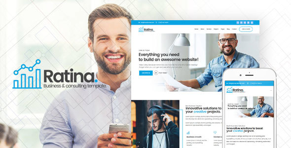 Image of Ratina - Business and Consulting HTML Template