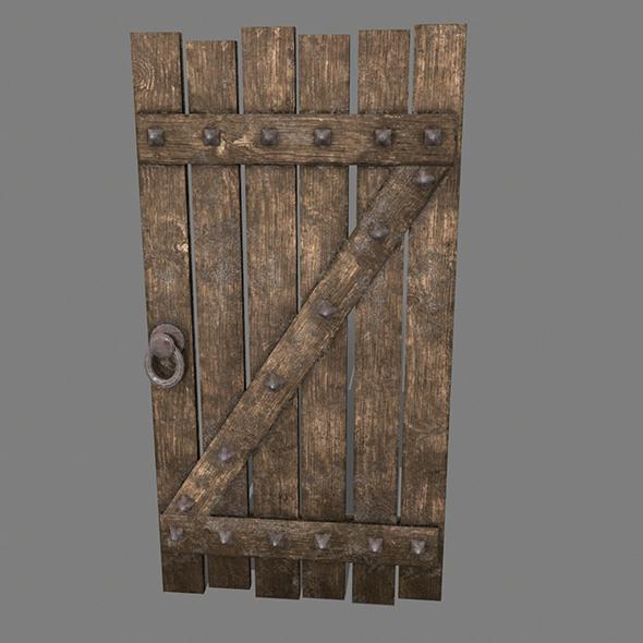 Medieval_Door - 3DOcean Item for Sale