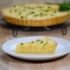 French Tart with Onions and Cheese. Piece of French Onion Pie - VideoHive Item for Sale