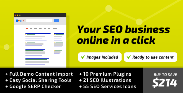 SEO WP: WordPress Theme for Digital Marketing Agency, Social Media & SEO Company