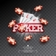Casino Illustration with Poker Card and Falling - GraphicRiver Item for Sale