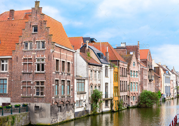 View of Gent - Stock Photo - Images