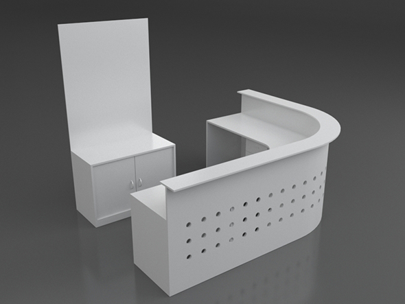 reception - 3DOcean Item for Sale