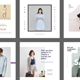 6 Instagram Fashion Templates - GraphicRiver Item for Sale