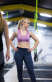 portrait of woman at cross fitness gym - PhotoDune Item for Sale