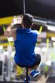 man doing rope climbing - PhotoDune Item for Sale