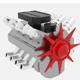 Engine XD - 3DOcean Item for Sale