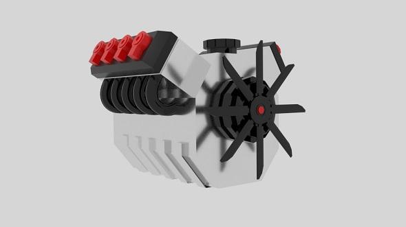 Cartoon Engine - 3DOcean Item for Sale