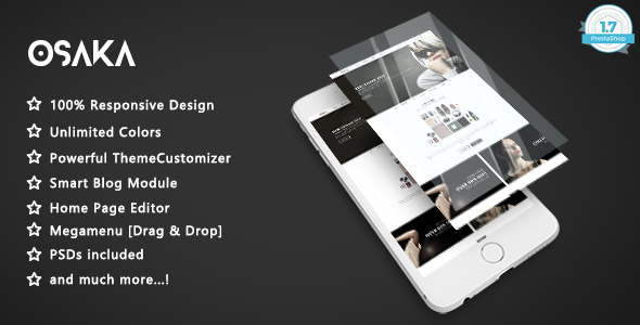 Image of Osaka - Clean & Modern Fashion Responsive Prestashop 1.7 Theme