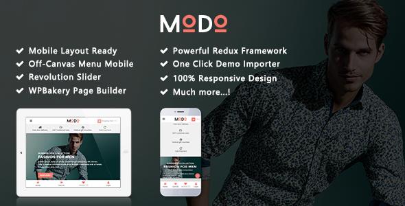 Modo - Clean Fashion & Furniture Responsive WooCommerce WordPress Theme