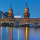 The Oberbaumbridge and the river Spree in Berlin - PhotoDune Item for Sale