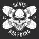 Vintage Skateboarding Logotype Template - GraphicRiver Item for Sale