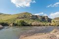 River landscape at the Karmelkspruit Resort near Lady Grey - PhotoDune Item for Sale