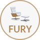 Fury - Clean Furniture Design Responsive Prestashop 1.7 Theme