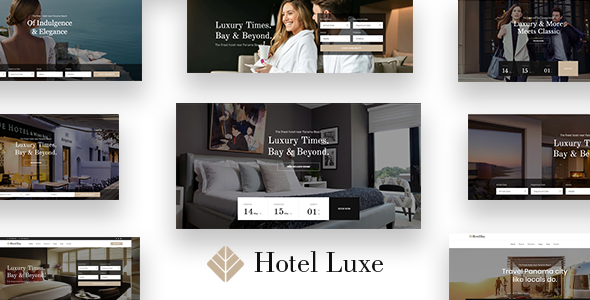 Hotel Luxe - Hotel WordPress Theme for Hotel Booking - Travel Retail