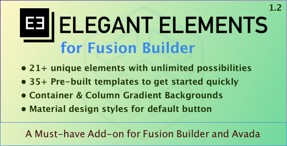 Elegant Elements for Fusion Builder - CodeCanyon Item for Sale