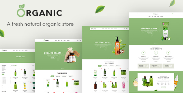 Organic - Beauty Responsive Prestashop 1.7 Theme