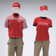 Food Service Uniforms and Retail Uniforms Mock-Up