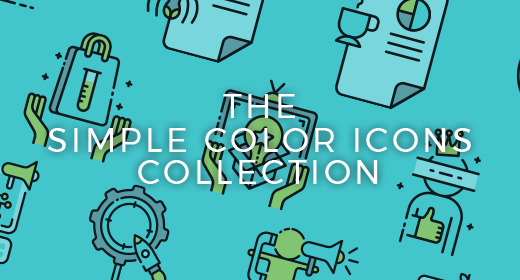 Simple Color Icons Collection