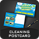 Cleaning Services Postcard Templates - GraphicRiver Item for Sale