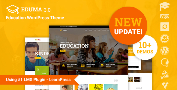Top 30+ Best Education WordPress Themes 2019 12