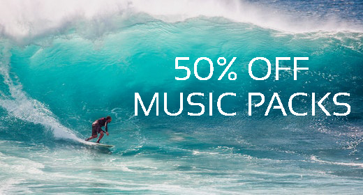 Music Packs - 50% off
