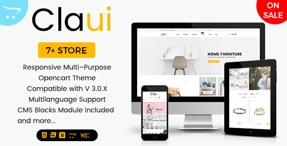 Claui - Responsive Opencart Themes for Shopping Cart Websites - OpenCart eCommerce