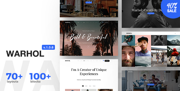 Image of Warhol - Responsive Multipurpose WordPress Theme for Creatives